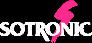 Logo Sotronic letras blancas